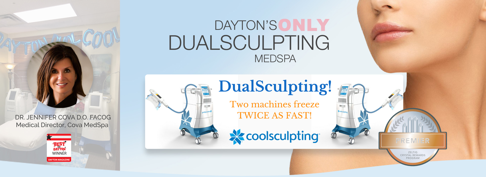 Dayton Dual CoolSculpting by Cova Medspa