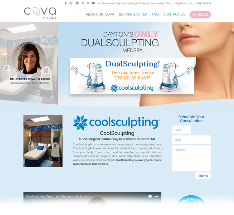 CoolSculpting Cova MedSpa The Complete Women's Practice