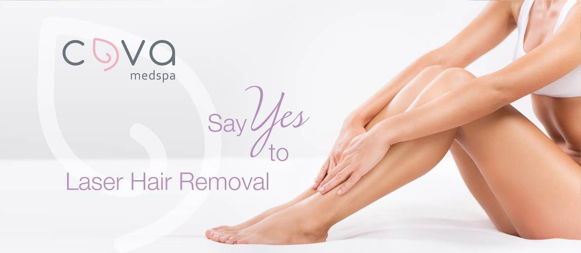Laser Hair Removal by Cova MedSpa